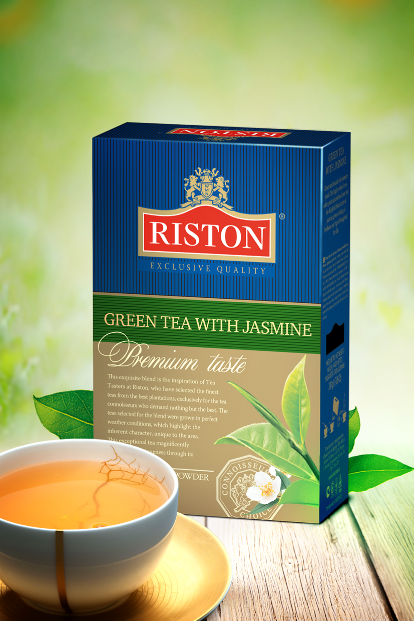 GREEN TEA WITH JASMINE